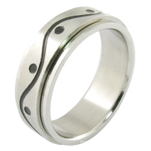 Stainless Steel Jewelry Gay Men Ring Gold Plated Ring