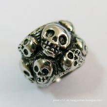 Schädel-Korn-Halsketten-Entwürfe Korn-Landung Großhandelsschmucksachen