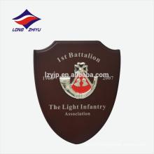 Логотип Рог от первого лица выигрывайте деревянные награду