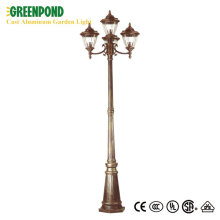 Relucent Aluminum Sand Casted Garden Lighting