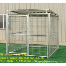 Animal safety cages metal welded dog cages galvanized dog fences modulars portable dog cages