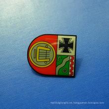Pin de solapa de impresión con desplazamiento, insignia organizativa (GZHY-OP-021)