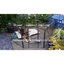 8 Seite groß im Freien falten billige Haustier Hund Laufgitter