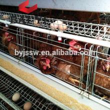 Sistema automático de jaula de cría de pollos de huevo / broiler