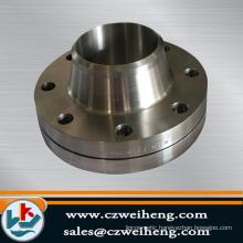 carbon steel A105 slip on raised face flange