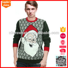 New fashion knitting patterns adult sweater novelty christmas jumpers