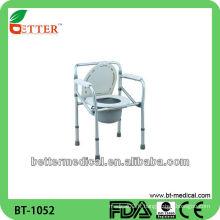 Foshan meilleure chaise de commode pliante médicale