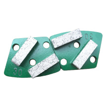 Concrete floor grinding pads diamond segment