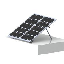 Techo plano del techo RCC Montaje del panel solar ajustable del triángulo