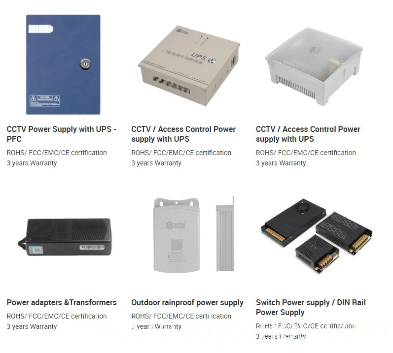 Boxed Power Supply CCTV