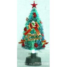 ¡2013 CALIENTE! USB fibra óptica árbol de Navidad estrella topper fuente de alimentación