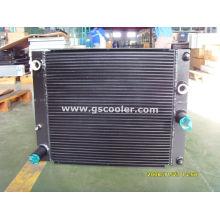 Масло / воздушный алюминиевый теплообменник (C022)