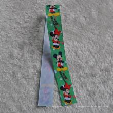 Étiquettes riches en ruban en satin coloré pour les accessoires artisanaux cadeaux