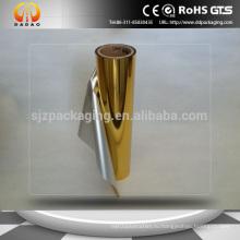 Металлизированная пленка из золота, сделанная в Китае