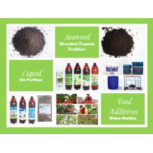 Fertilizante orgânico composto de NPK de liberação lenta