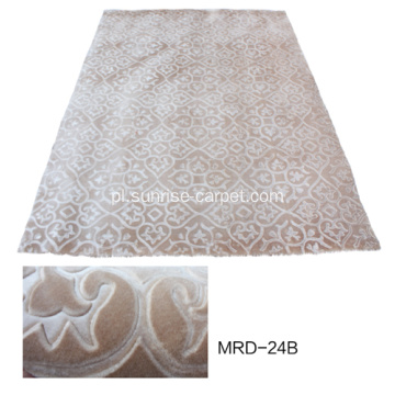 Ściana do ściany Embossing Mink Carpet