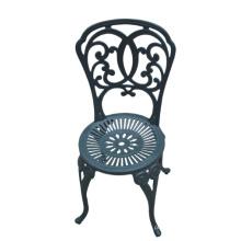 Cadeira do pátio jardim metal mobília ao ar livre Cast alumínio