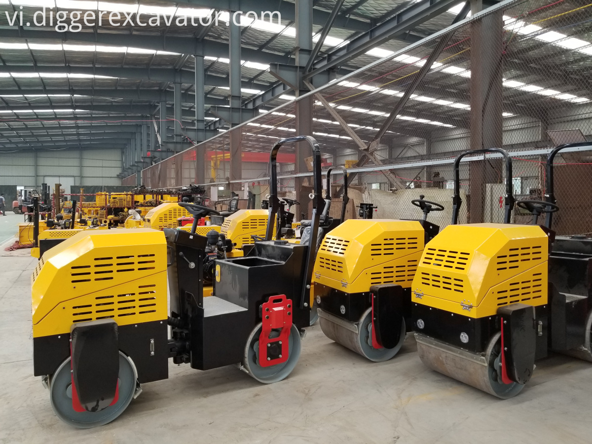 double drum new road roller price