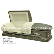 Nos estilo 18ga caixão de aço 18h 9114