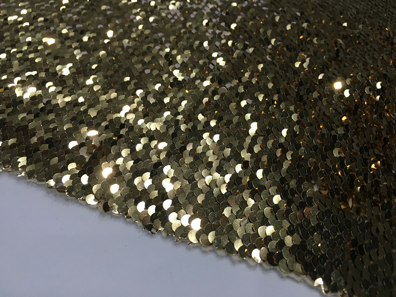 5mm Double Color Sequin Fabric