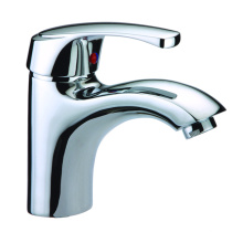 Grifo de lavabo de latón corto de hardware de baño