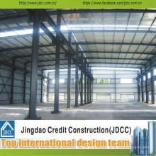 Cobertizo de almacenamiento de estructura de acero prefabricado