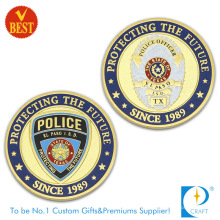 Top Quality Customized 3D Both Side Police Commemorative or Souvenir Coin in Metal