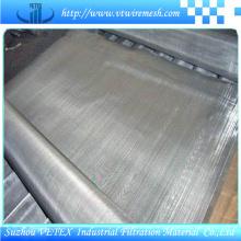 Mesh de filtre en acier inoxydable utilisé pour la fabrication de machines