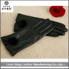 Fabriqué en Chine Hot Sale Rubberized Cuff Cow Split Leather Guts