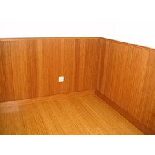 Carbonized Vertical Bamboo Wall Panels