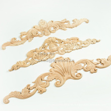 Muebles europeos para el hogar decoran exquisitos tallados en madera onlay