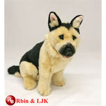 Meet EN71 and ASTM standard ICTI plush toy factory wholesale animal sound plush dog toy