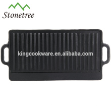alta qualidade de ferro fundido churrasqueiras reversíveis