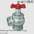 ANSI Válvula de compuerta de temperatura media de rosca hembra de acero inoxidable