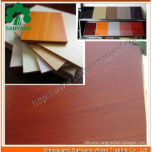 Melamine Faced MDF / Laminated MDF Board