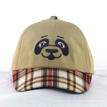 Moda Cães Kids Caps com Check Pattern