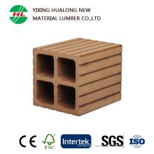 WPC esgrima barandilla de plástico compuesto de madera para exteriores (HLM65)