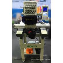 Cabeza de cabeza simple de alta velocidad y máquina de bordar de la camiseta Wy1201CS
