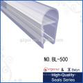 0 градусов закаленного стекла стеклянный душ резиновые уплотнения двери