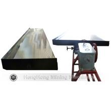 Mesa de agitación de separación de gravedad mineral 6s