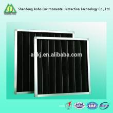 Filtro de carbón activado por aire de panel de uso de sistema de HVAC de alta calidad