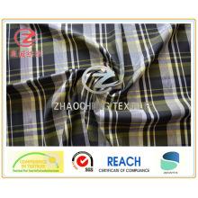 Vier-Ton-Garn gefärbtes Ribstop-Gewebe (Silbergarn innen) für Jacke (ZCGP092)