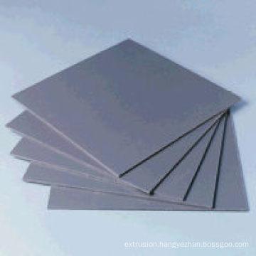 PVC Rigid Sheet Grey Color
