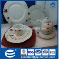 Le quotidien européen de haute qualité utilise des vaisselles en céramique fabriquées en Chine
