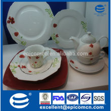 High Quality European daily used ceramic dinnerware made in china