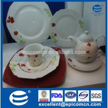Керамическая посуда европейского качества высокого качества, сделанная в Китае