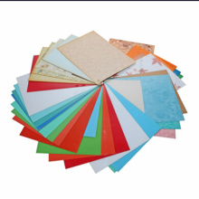 High Gloss PVC Sheet 1.5mm Thickness Color PVC Film for Wall Decoration
