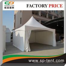 Tente de canopée 5mx5m avec tissu pvc étanche pour tente