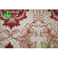 Polyester Jacquard Vorhang Stoff (BS1307)