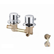 Manufacturer chrome plated faucets brass shower panel thermostatic faucet